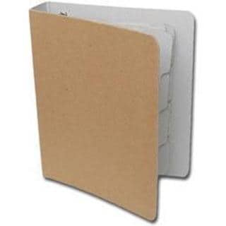 Die-Cut Chipboard Journaling Memory D-Ring Binder - 7.5 X9 With (4) 5.5 X8 Pages