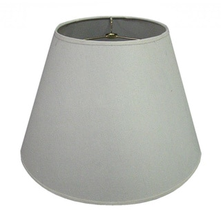 Hardback White Round Fabric Lamp Shade