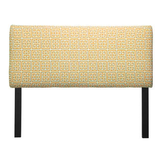 Upholstered Towers Orange Headboard