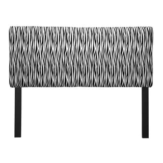 Upholstered Miami Black/ White Headboard