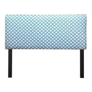 Upholstered Eddy Teal Headboard