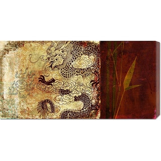 Joannoo 'Year of the Dragon' Stretched Canvas