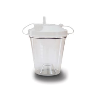 Drive Medical Disposable Suction Canister 800CC (Case of 12)
