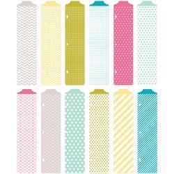 Project Life Designer Dividers 12/Pkg - Blush Edition