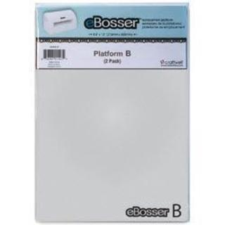 ebosser Embossing & Cutting Platform B 2/Pkg -