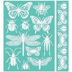 Cuttlebug 5 X7 Embossing Folder/Border Set - Entomology