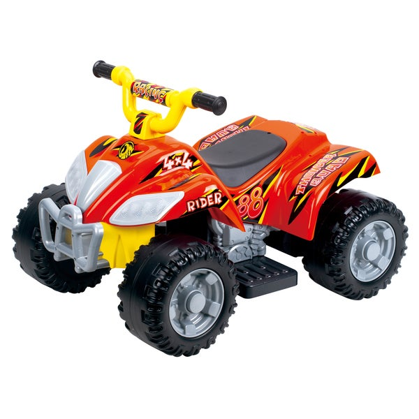 Battery Operated Jumbo Quad Red Ride On