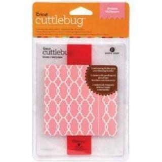 Cricut Cuttlebug A2 Embossing Folder/Border Modern Wallpaper Set