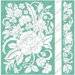 Cuttlebug 5 X7 Embossing Folder/Border Set - Floral Bouquet