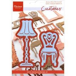 Marianne Designs Creatables Die - Eline's Chair & Lamp