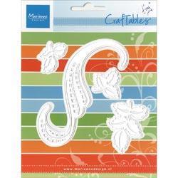 Marianne Designs Craftables Die - Tiny's Swirls & Leaves 3