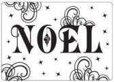 Crafts-Too Embossing Folder 4 X6  - Noel