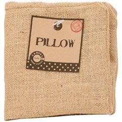 Burlap Pillow Square 12 X12 - Natural