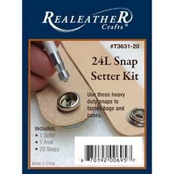 24L Snap Setter Kit - Nickel