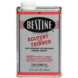Bestine Solvent And Thinner - 1qt