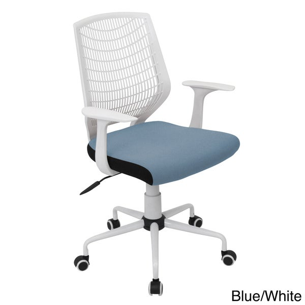 Network Contemporary Orange Office Chair