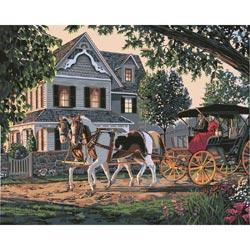Paint By Number Kit 16 X20 - Home Sweet Home