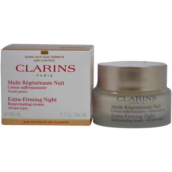 Clarins Extra-Firming Night Rejuvenating 1.7-ounce Cream
