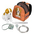Pediatric Beagle Compressor Nebulizer with Carry Bag