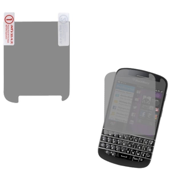 INSTEN 2 Piece Screen Protector Set for Blackberry Q10