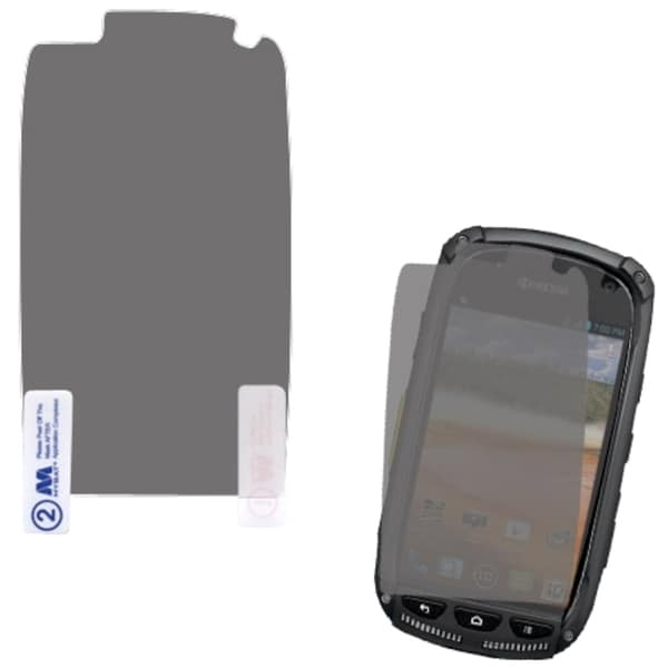 INSTEN 2 Piece Screen Protector Set for Kyocera E6710 Torque