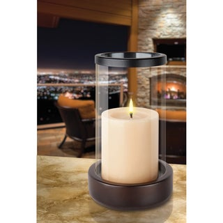 Sarah Peyton Glass Candle Holder | Overstock.com Shopping - Great