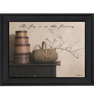 Billy Jacobs 'The Joy is the Journey' Framed Wall Art