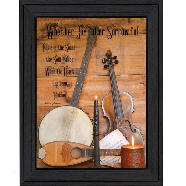 Billy Jacobs 'Music' Framed Wall Art