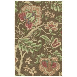 Nourison Waverly Global Awakening Chocolate Rug (2'6 x 4')