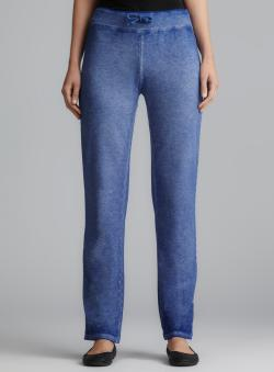 Central Park Blue Dyed Drawstring Pant