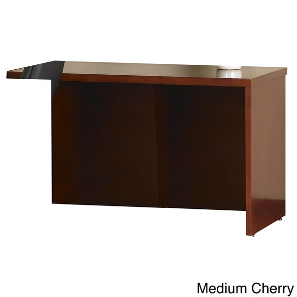 Mayline Mira 48 Inch Veneer Non Handed Return For Mira Desk