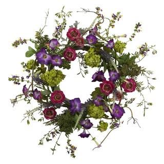 20-inh Veranda Garden Wreath