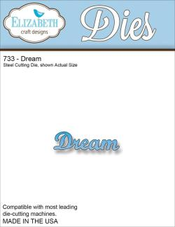 Elizabeth Craft Metal Die - Dream