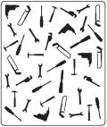 Crafts-Too Embossing Folder 5 X6 - Tools