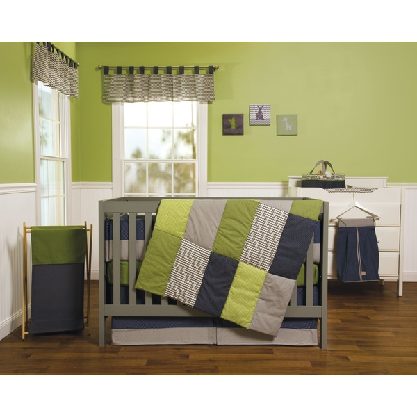 Trend Lab Perfectly Happy 5-piece Crib Bedding Set