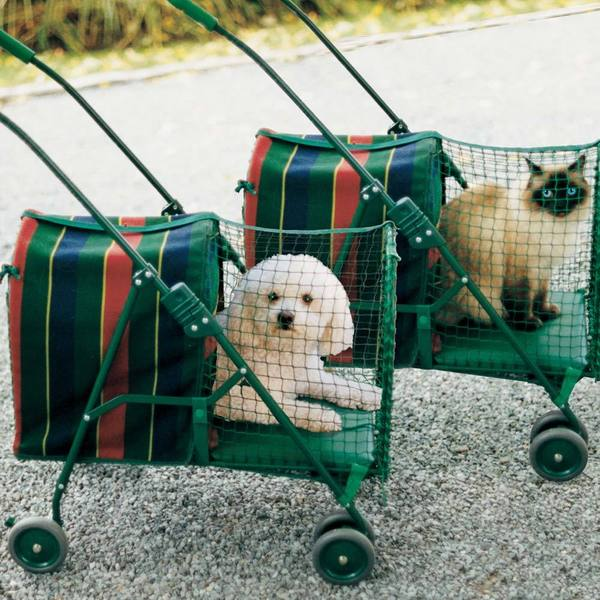 Kittywalk Original Stripe Pet Stroller