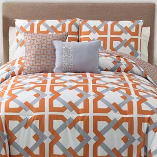 Trinity 5-piece Reversible Comforter Set