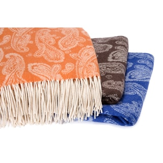 Paisley Jacquard Throw