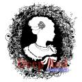 Deep Red Cling Stamp - Cameo Nouveau