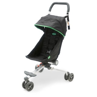 QuickSmart Backpack Stroller in Black and Lime
