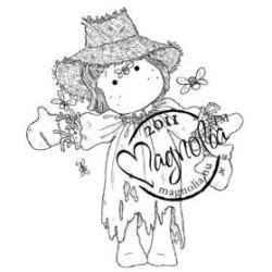 Sweet Rainbow Cling Stamp - Scarecrow Tilda