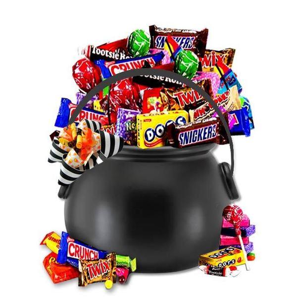 Happy Halloween Candy Cauldron Of Treats