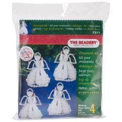 Holiday Beaded Ornament Kit - Caroling Angels