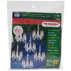 Holiday Beaded Ornament Kit - Christmas Chandeliers
