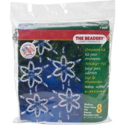 Holiday Beaded Ornament Kit - Sapphire Six Point Star