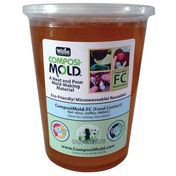 Composimold Reusable Molding Material 40oz - Food Molds