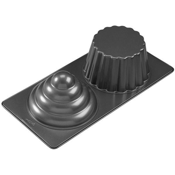 3D Cupcake Pan - 2 Cavity