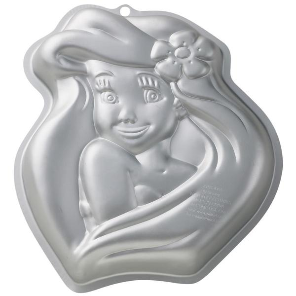Novelty Cake Pan - Disney Princess Ariel 10.5 X11.75 X2