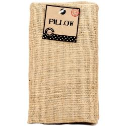 Burlap Pillow Rectangle 10 X18 - Natural