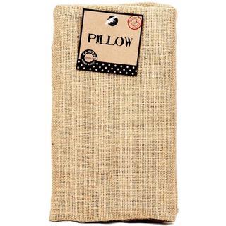 Burlap Pillow Rectangle 10 X18 - Natural